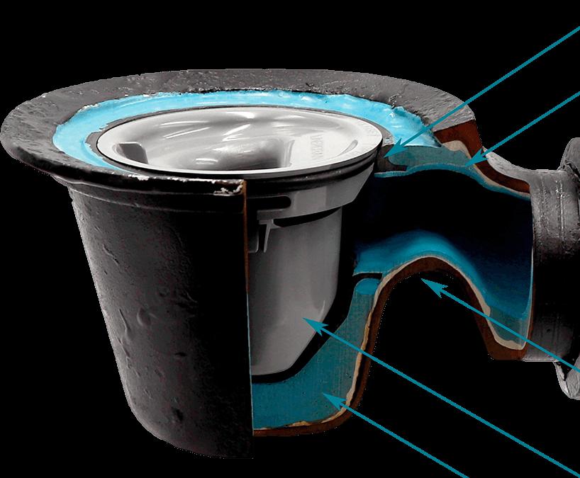Lattiakaivon vaihto piikkaamalla vai saneeraus muovi-insertillä?